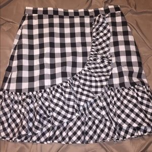 J. Crew Skirt. Goes a little over the knee